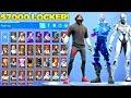 My $7000 Fortnite Locker Showcase! 300+ Skins & All Fortnite Emotes! (Fortnite Battle Royale)