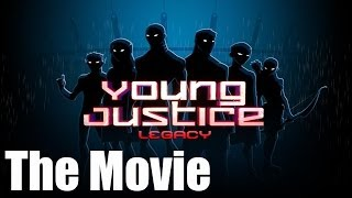 Young Justice Legacy - All Cutscenes (Game Movie)