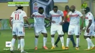 أهداف الزمالك ويونيون دوالا (2-0) - دوري أبطال افرقيا - (19-3-2016)