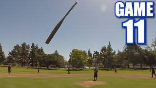 FLIPPING YOUR BAT AT THE PITCHER!   On-Season Softball League   Game 11