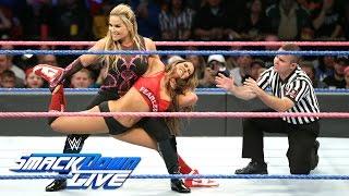 Nikki Bella vs. Natalya - Winner is captain of Survivor Series Team: SmackDown LIVE, Oct. 25, 2016