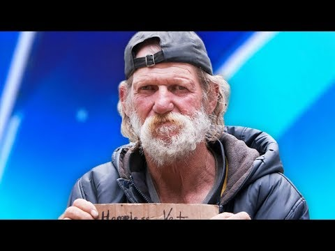 Homeless Man Goes On America s Got Talent His Life Will Never Be The Same