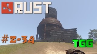 Rust- Clan Wars Ep:34 Battle at The Sphere Tank