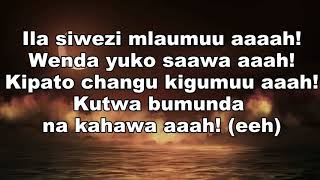 Harmonize - Atarudi (Lyric Music Video)