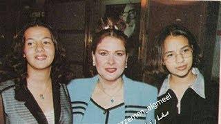 صورة نادرة لدنيا وإيمي سمير غانم من مراهقتهما تصدم جمهورهما   لن تصدق كيف كان شكلهما