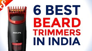 6 Best Beard Trimmers for Men in India with Price