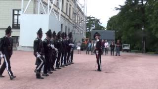 Gardisten foran slottet