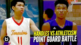 Jaylen Hands vs Kihei Clark SICK Point Guard Battle!! Athleticism vs Handles!! FULL Highlights