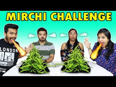 SPICY CHILI EATING CHALLENGE EXTREME MIRCHI EATING COMPETITION मिरची ईटिंग चॅलेंज