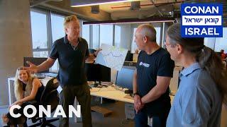 Conan Visits Waze HQ In Tel Aviv  - CONAN on TBS