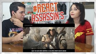 REACT Rap do Assassin's Creed | Tauz RapGame 19 (Tauz)