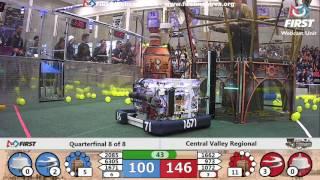 Quarterfinal 8 - 2017 Central Valley Regional