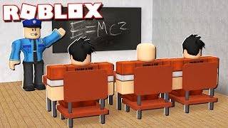 Roblox Adventures - PRISON BREAK SCHOOL IN ROBLOX! (Prison School)