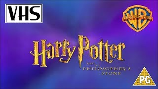 Opening to Harry Potter and the Philosopher's Stone UK VHS (2002)