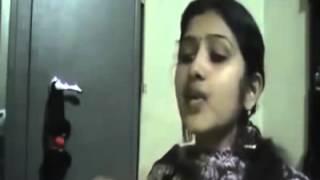 Bangladeshi Girl from Barisal Sings Waka waka as like as Sakira