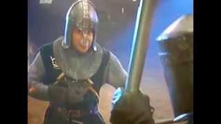 Cable guy escena de pelea medieval