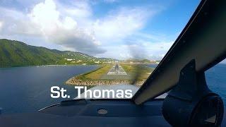 Landing at St. Thomas (TIST)