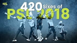 All Sixes of PSL 2018 - 1 Hour Version