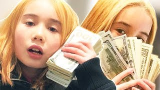 THIS 9 YEAR OLD THINKS SHE'S RICH