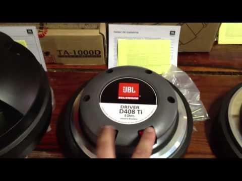 Comparação Drivers Selenium 2 Pol. D405 D405 Trio D4400 TI D408 TI e misturar Drivers Pode