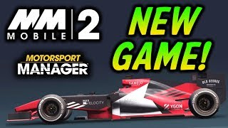 Motorsport Manager Mobile 2 Gameplay: Career Mode Part 1 - NEW iOS GAME!