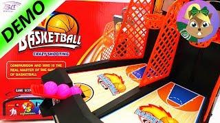 تحدي كرة السلة -ميني ممر للعبة كرة السلة | العب معى
