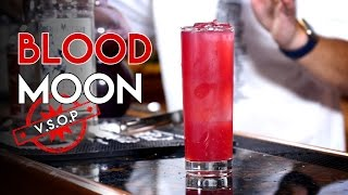 Blood Moon Cocktail / Pool Side Easy