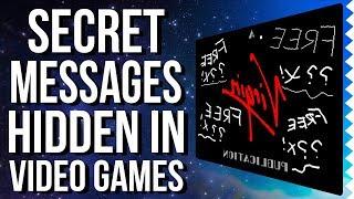 Shocking & Secret Messages Hidden in Video Games!
