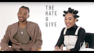 The Hate U Give: Stars Amandla Stenberg, Algee Smith at 2018 Toronto Film Festival