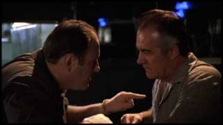 The Sopranos Episode 11 Tony & Paulie Discuss Pussy's Wire at the Bada Bing