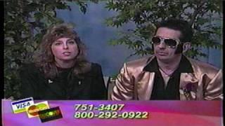 Chris Kellett with Elvis PBS Lakeland Public TV Pledge Drive Brainerd, MN Minnesota