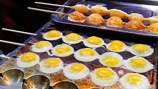 Xi'an (China) Street Food - Quail Egg Skewers 鹌鹑蛋串