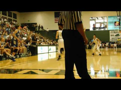 Evans basket Garrison Forest/Indian Creek basketball IAAM C final 02/19/17
