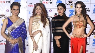 Umang 2017 Police Show Red Carpet Full Video HD - Kangana Ranaut,Shilpa Shetty,Mouni Roy