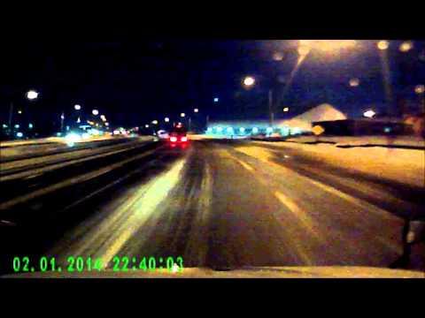 Abf driver loses control