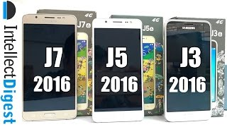 Samsung Galaxy J3 VS J5 VS J7 2016 Comparison- Which Is Better? | Intellect Digest