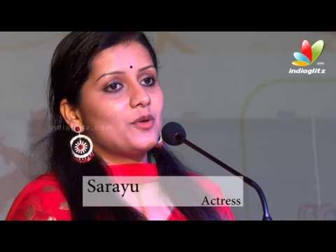 Sarayu LaunchesHer New Book Njayaraychakale Snehicha Penkutty I Kavyamadhavan, Rachana Narayanan..