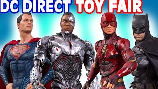 TOY FAIR 2017 DC Collectibles Direct HASBRO JUSTICE LEAGUE NECA Action Figures Hot Toys NY New York