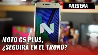 Moto G5 Plus, review en español