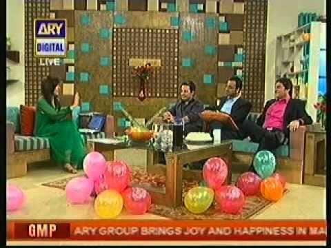 waseem badami Abdullah kadwani & chef Mehbub in Good Morning Pakistan The Live morning Show on Ary Digital p2