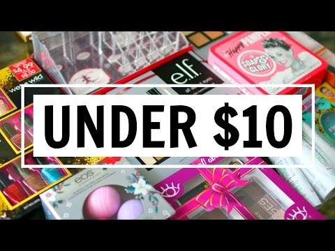 10 BEAUTY GIFT IDEAS UNDER $10