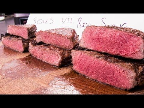 Xxx Mp4 Steak Experiment Reversed Sear Vs Sous Vide Vs Frozen 3gp Sex