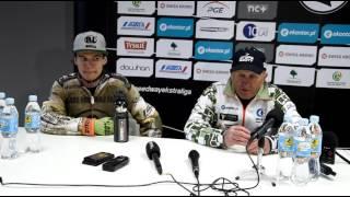 Konferencja po meczu z ROW Rybnik, 24.04.2016