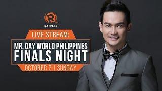 LIVE: Mr Gay World Philippines 2016 Finals Night