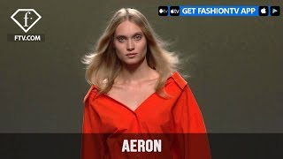 Madrid Fashion Week Spring Summer 2018 - AERON | FashionTV
