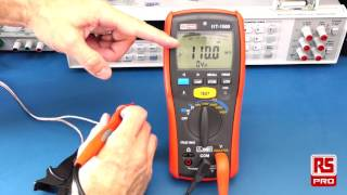 RS Pro IIT 1500 Insulation Tester Review