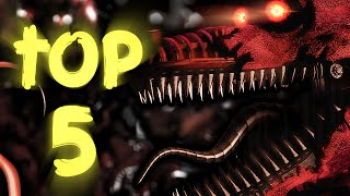 Top 5 Nightmare Animatronic Theories! || Five Nights At Freddy's 4: The Final Chapter