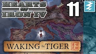 UNITED ANCIENT EMPIRES [11] With Aldrahill - Hearts of Iron IV - Waking The Tiger DLC
