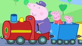 Peppa Pig em Português   O Trenzinho do Vovô   Compilação de episódios   Desenhos Animados