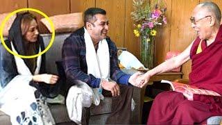 Salman Khan Marriage Blessings For Girlfriend Lulia Vantur From Dalai Lama